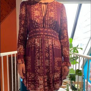 Free People!  Darling prairie dress.